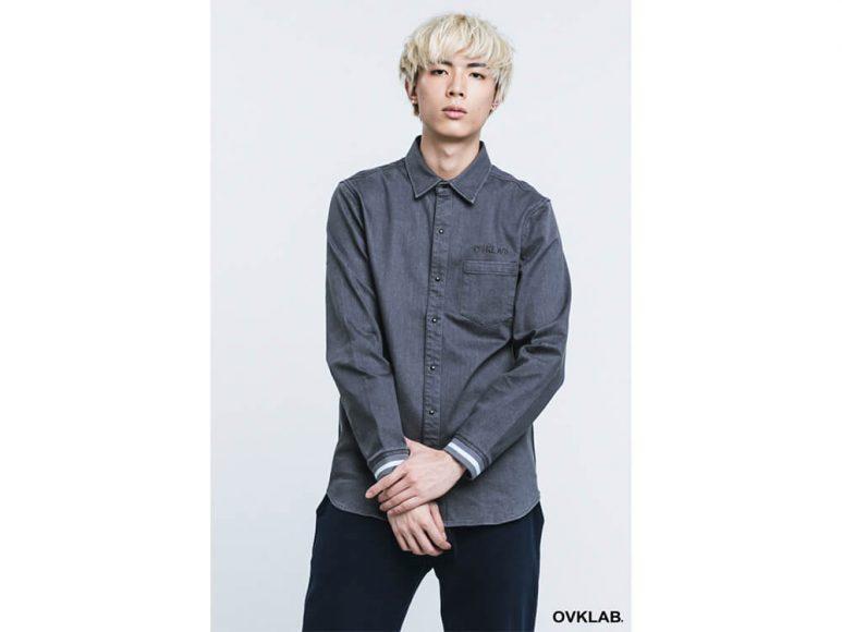 OVKLAB 16 AW Rib Cuff Shirt (2)