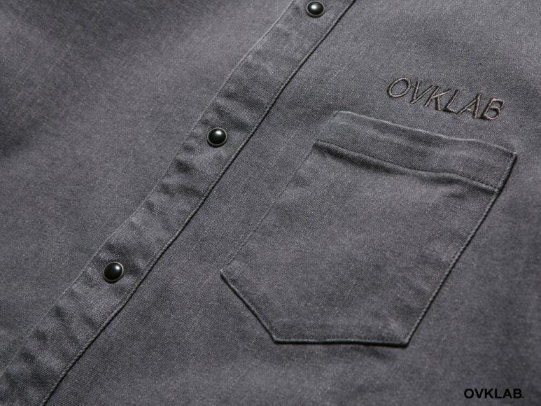 OVKLAB 16 AW Rib Cuff Shirt (6)