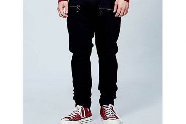 OVKLAB 17 SS Zipper Skinny Denim Jeans (3)
