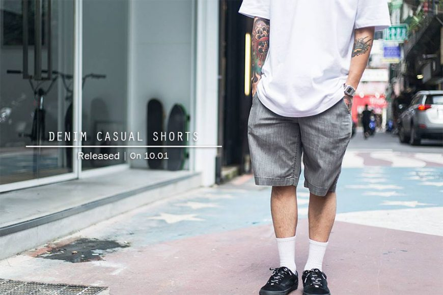 Remix 16 SS Denim Casual Shorts (1)