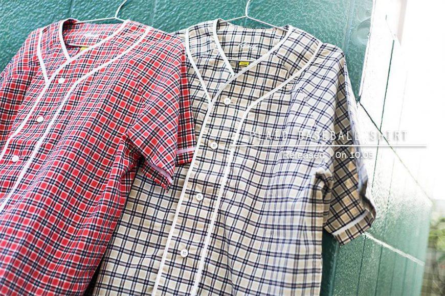 Remix 16 SS Plaid Baseball Shirt (1)