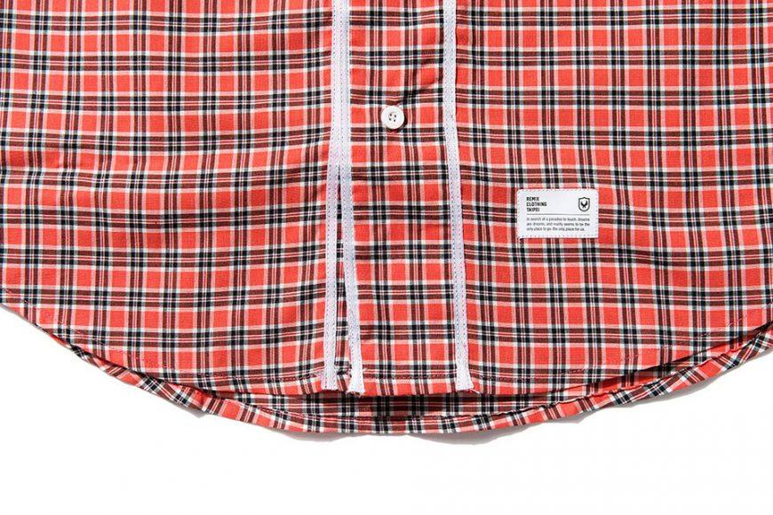 Remix 16 SS Plaid Baseball Shirt (5)