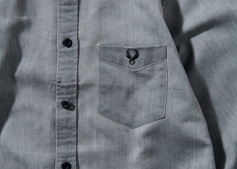 Remix 16 SS Side Zip Denim LS Shirt (10)