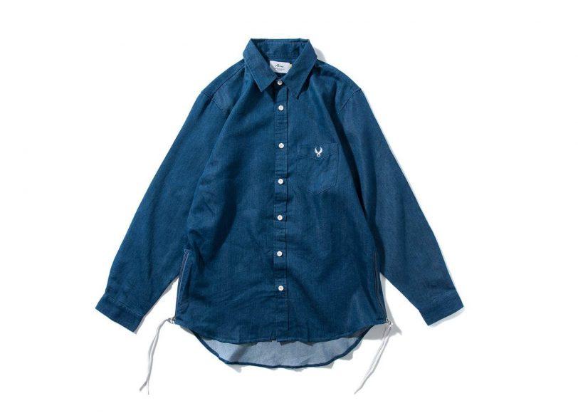 Remix 16 SS Side Zip Denim LS Shirt (2)