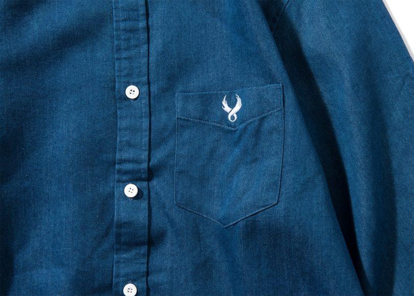 Remix 16 SS Side Zip Denim LS Shirt (4)