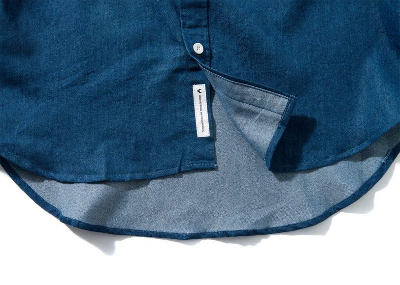Remix 16 SS Side Zip Denim LS Shirt (5)