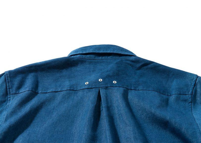 Remix 16 SS Side Zip Denim LS Shirt (6)