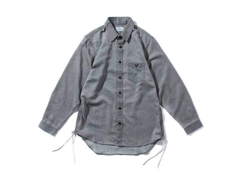 Remix 16 SS Side Zip Denim LS Shirt (8)
