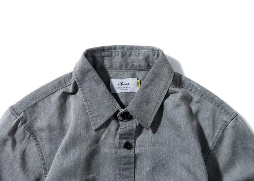 Remix 16 SS Side Zip Denim LS Shirt (9)