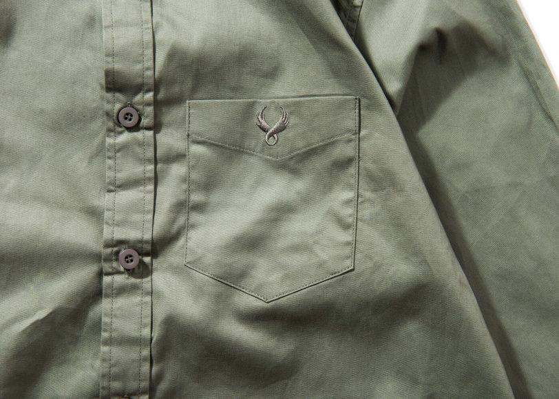 Remix 16 SS Side Zip Plain LS Shirt (11)