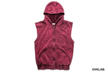 T-1619_Acid Washed Sleeveless Hoodie-1