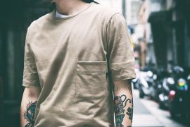 B-Side 16 SS Basic Pocket Tee (1)