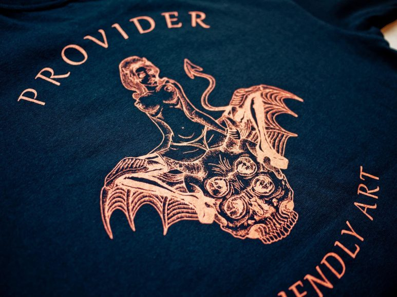 Provider 16 SS Devil With Evil Bat Tee (2)
