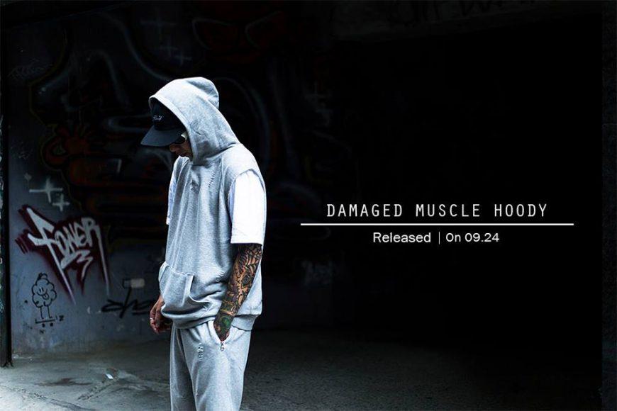 Remix 16 SS Damaged Muscle Hoody (1)