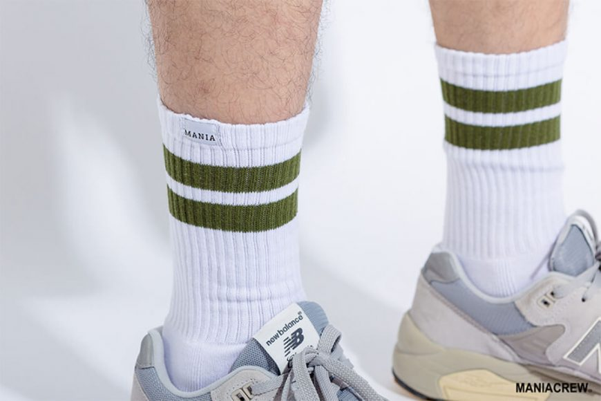 MANIA 17 SS Stripe Socks (5)