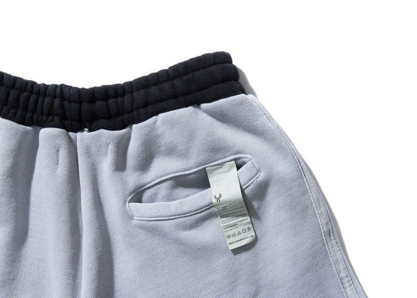 REMIX 17 SS Garment Dyed Sweat Shorts (11)