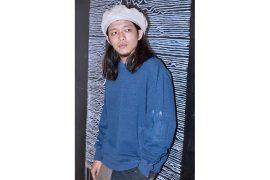 OVKLAB 17 AW Oversize Denim Sweatshirt (1)
