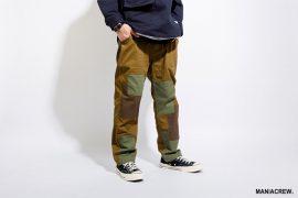 MANIA 17 AW Patchwork Cargo Pant (1)
