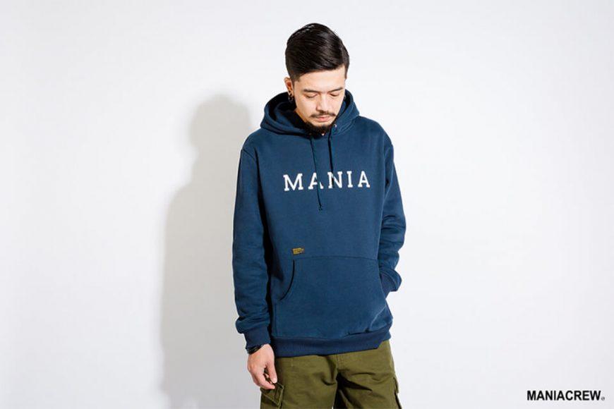 MANIA 17 AW Script Hoodie (2)