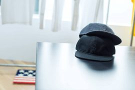 REMIX 17 AW 1 Tone Baseball Cap (1)