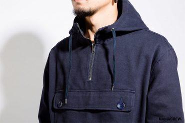 MANIA 17 AW Neck Zip Pullover (3)