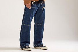 OVKLAB 17 AW Denim Army Trousers (1)
