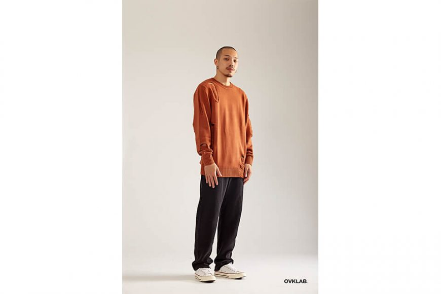 OVKLAB 17 AW Destroyed Knit Sweater (2)