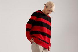 OVKLAB 17 AW Stripe Sweater (1)