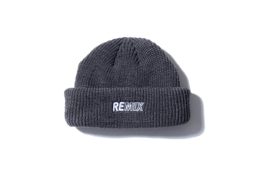 REMIX 17 AW Two Sides Short Beanie (8)