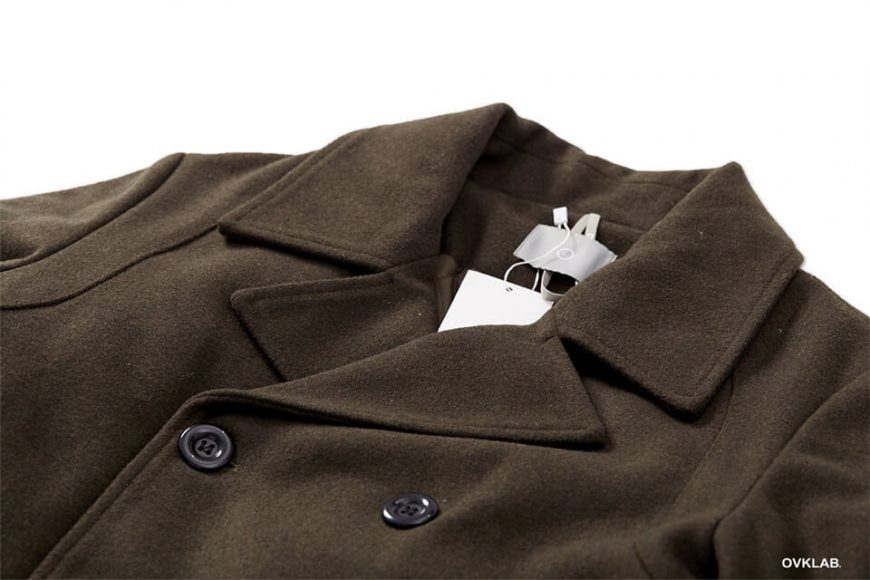 OVKLAB 17 AW Wool Pea Coat (17)