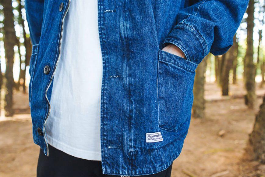 NEXTMOBRIOT 17 FW Woolneck Denim Jacket (6)
