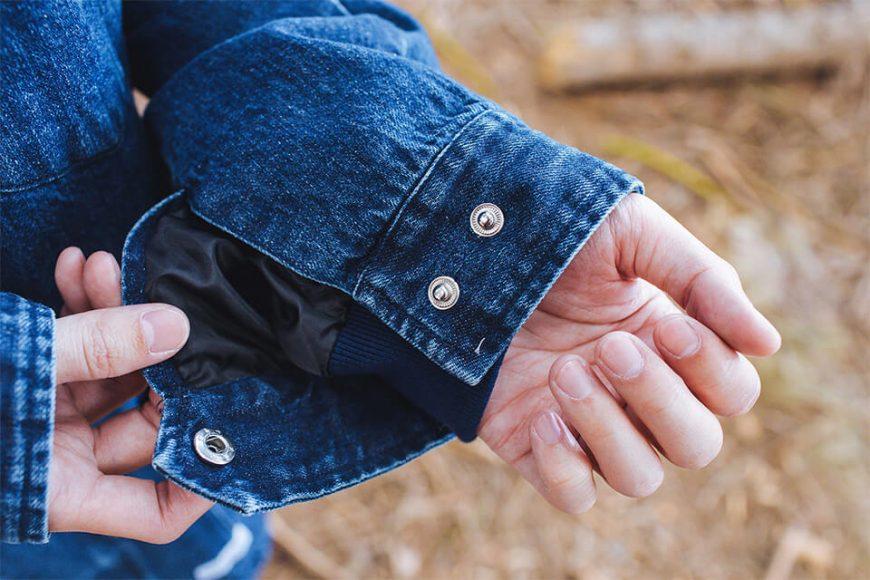 NEXTMOBRIOT 17 FW Woolneck Denim Jacket (7)