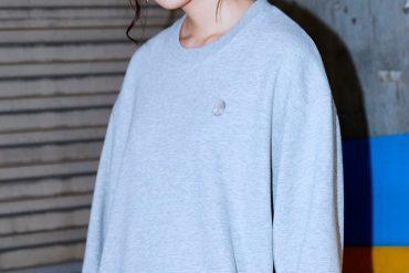 OVKLAB 17 AW Washed Basic Logo Sweatshirt (1)