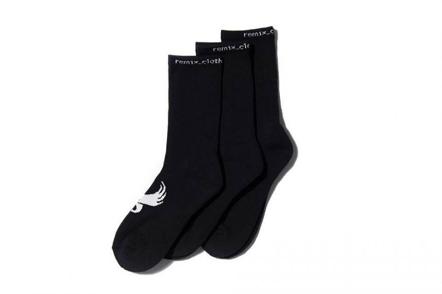 REMIX 17 AW Athletic Crew Socks 3-Pack (3)