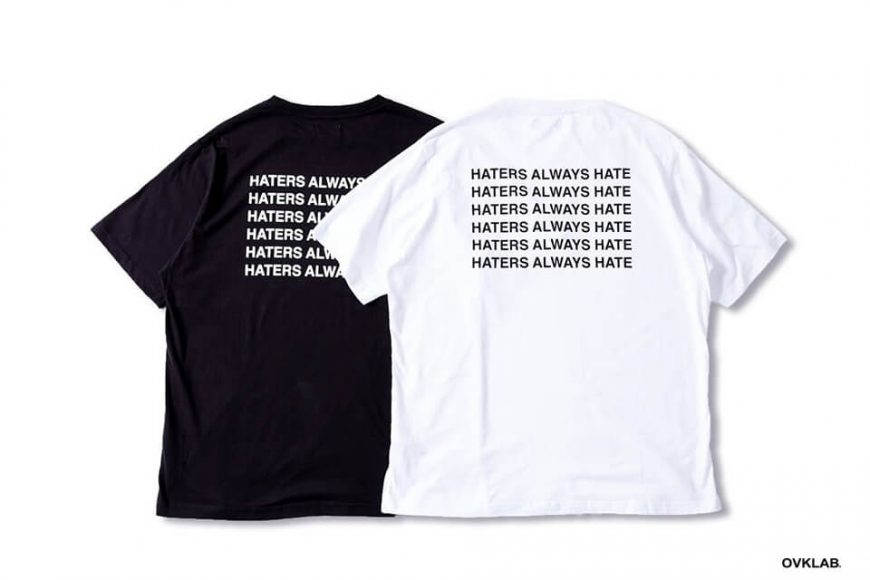 OVKLAB 525(五)發售 18 SS Haters Oversize Tee (2)