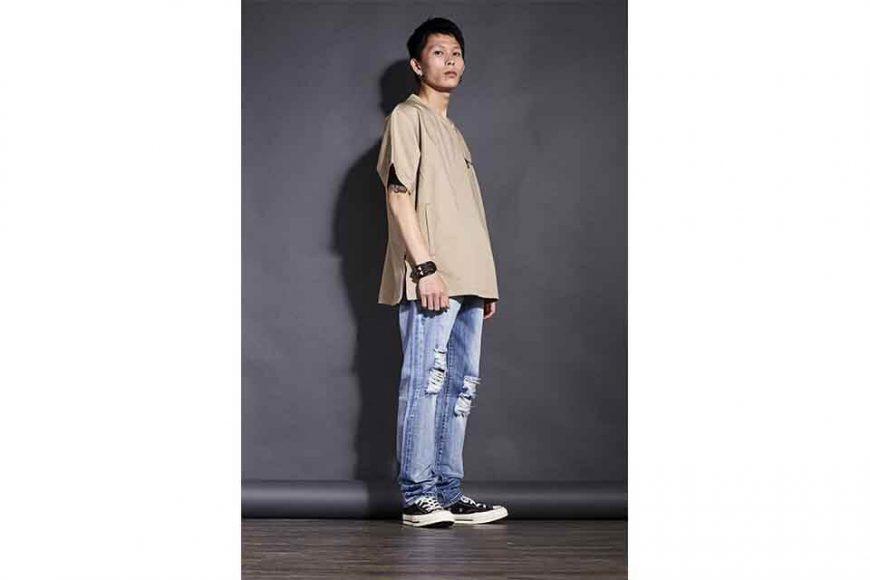 OVKLAB 613(三)發售 18 SS Collarless Shirt (12)