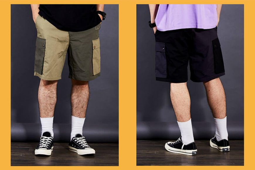 OVKLAB 66(三)發售 18 SS Two Tone Shorts (1)