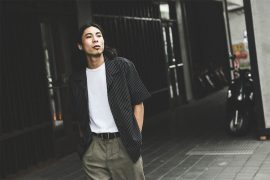 B-SIDE 77(六)發售 18 SS Urban Stripe Shirts (1)