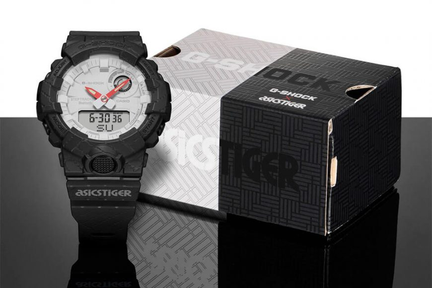 CASIO G-SHOCK X ASICSTIGER GBA-800AT-1ADR (2)