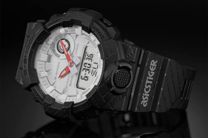 CASIO G-SHOCK X ASICSTIGER GBA-800AT-1ADR (3)