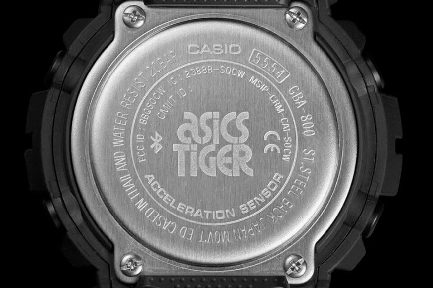 CASIO G-SHOCK X ASICSTIGER GBA-800AT-1ADR (6)