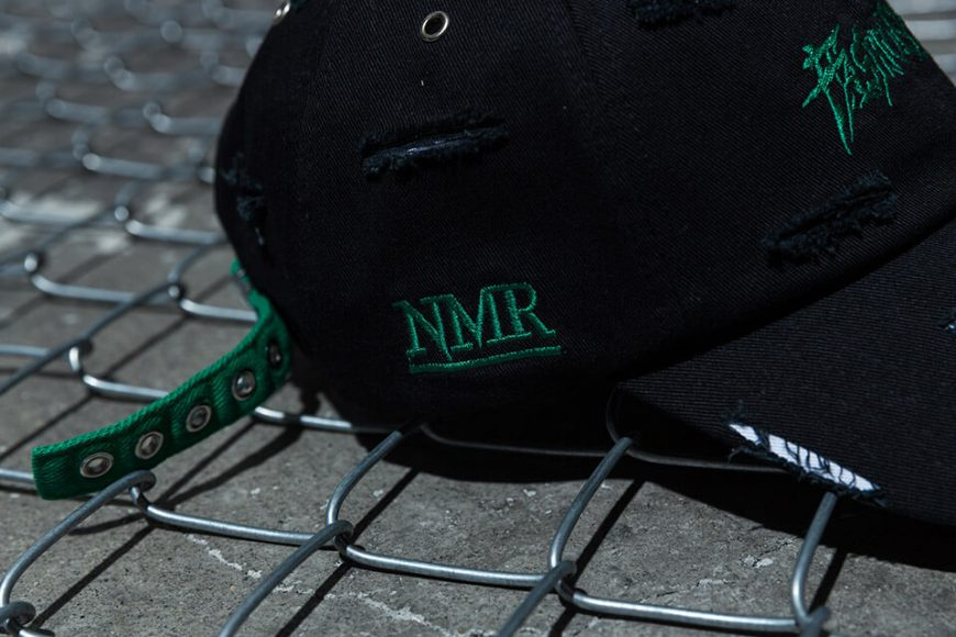 NextMobRiot 98(六)發售 18 SS NMR15th x FASHION KILLA DAMAGE NIGHTMARE LOGO CAP (5)
