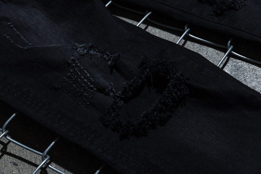 NextMobRiot 98(六)發售 18 SS NMR15th x FASHION KILLA Damage Paisley Denim Pants (7)