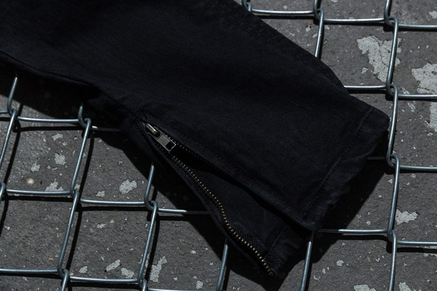 NextMobRiot 98(六)發售 18 SS NMR15th x FASHION KILLA Damage Paisley Denim Pants (8)