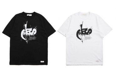 AES 1027(六)發售 18 AW Aes 10th Anniversary Logo Tee (0)