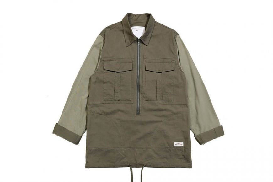 AES 1027(六)發售 18 AW Aes Military Zip Shirt (1)