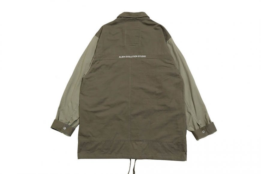 AES 1027(六)發售 18 AW Aes Military Zip Shirt (2)