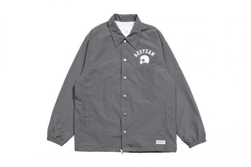 AES 1027(六)發售 18 AW Aes Skull Logo Coach Jacket (6)