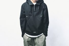 B-SIDE 18 AW Utility Pullover JKT (1)