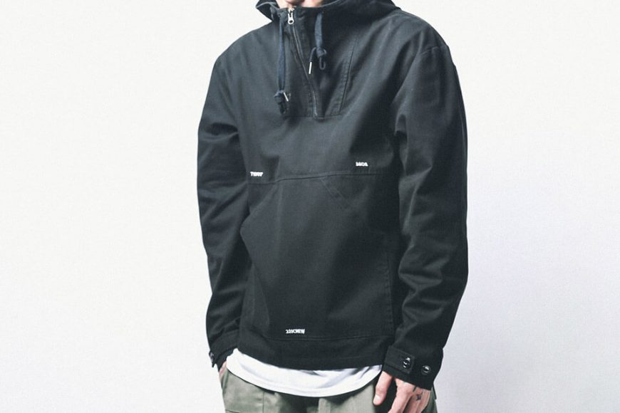 B-SIDE 18 AW Utility Pullover JKT (2)